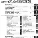 1994 Toyota 4Runner Wiring Diagram Manual Original with 2004 Toyota 4Runner Wiring Diagram
