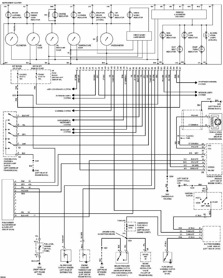2004 trailblazer wiring schematic  diagrams  wiring diagram images