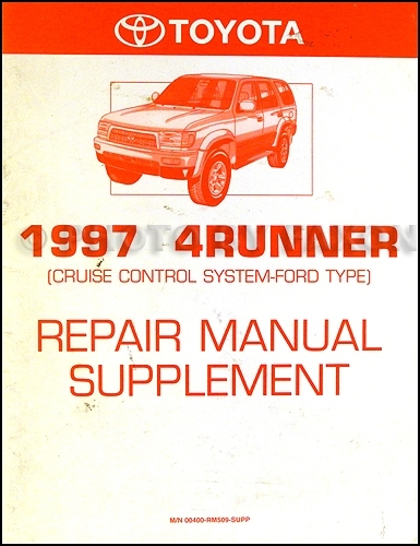 1997 Toyota 4Runner Wiring Diagram Manual Original within 1997 Toyota 4Runner Wiring Diagram