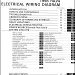 1998 Toyota Rav4 Wiring Diagram Manual Original regarding 2001 Toyota Rav4 Wiring Diagram