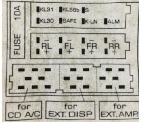 1999 Vw Beetle Stereo Wiring Diagram : Vw beetle audio wiring radio diagram schematic colors