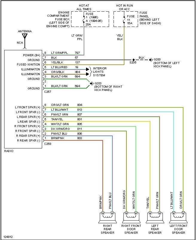 2001 Ford Taurus Stereo Wiring Diagram with 2001 Ford Radio Wiring Diagram