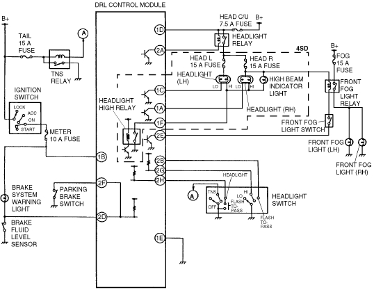 2001 nissan pathfinder wiring diagram