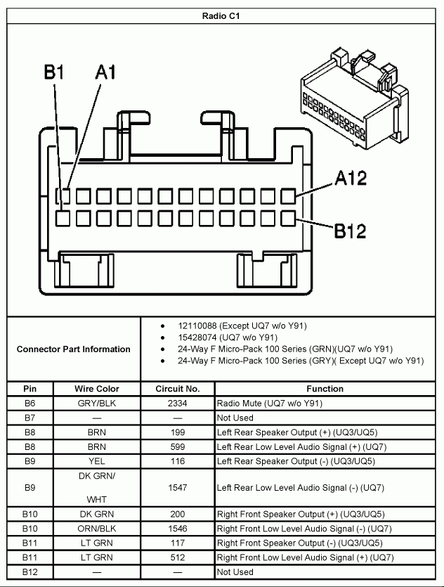 2002 Chevy Silverado Radio Wiring Diagram. 2002. Free Wiring Diagrams with 2002 Jetta Stereo Wiring Diagram