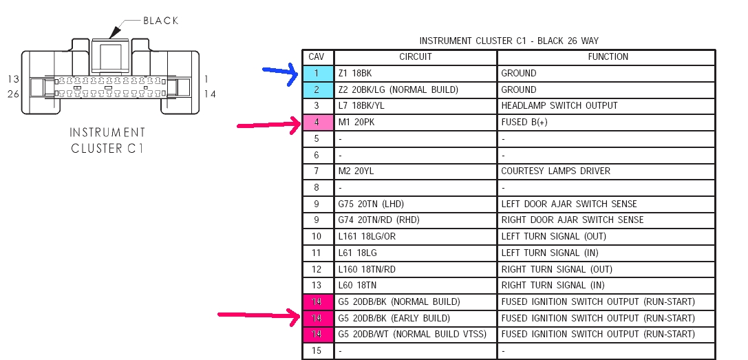 2002 Pt Cruiser Radio Wiring Diagram on 2003 pt cruiser fuse box diagram