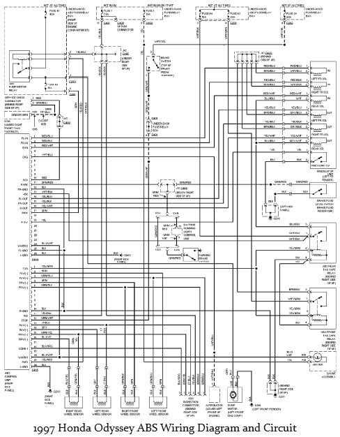 Honda odyssey starter wiring diagram fuse box and