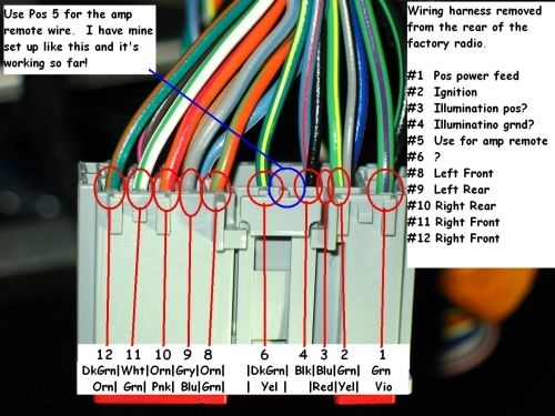 2006 F150 Radio Wiring - Ford F150 Forum pertaining to 2008 Ford F150 Radio Wiring Diagram