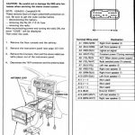 2006 Honda Odyssey Stereo Wiring Diagram Navigationradio - Wiring pertaining to 2001 Odyssey Wiring Harness