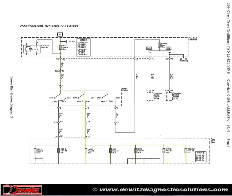 2003 Trailblazer Fuel Pump Wiring Diagram