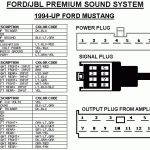 2007 Ford Mustang Radio Wiring Diagram Ford Car Radio Stereo Audio intended for 2007 Ford Mustang Wiring Diagram