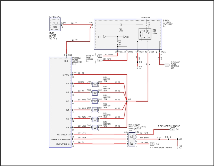 2007 Ford Mustang Wiring Diagram - Car Autos Gallery with regard to 2007 Ford Mustang Wiring Diagram