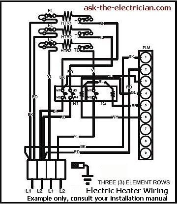 220 Volt Electric Furnace Wiring intended for Coleman Electric Furnace Wiring Diagram