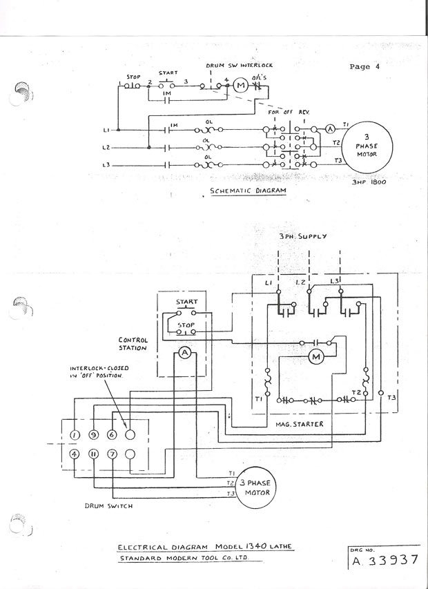 3 phase to single phase motor wiring diagram 230v 3 phase motor wiring diagram | fuse box and wiring ... #6