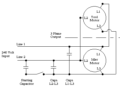 3 Phase Static Converter Wiring Diagram Phase Converters - Wiring throughout 3 Phase Converter Wiring Diagram