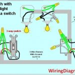 3 Way Switch Wiring Diagram | House Electrical Wiring Diagram with How To Wire A 3 Way Switch Diagram
