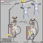 3 Way Switch Wiring Diagram with regard to 120V Electrical Switch Light Wiring Diagrams