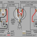 3-Way Switch Wiring - Electrical 101 for 120V Electrical Switch Light Wiring Diagrams