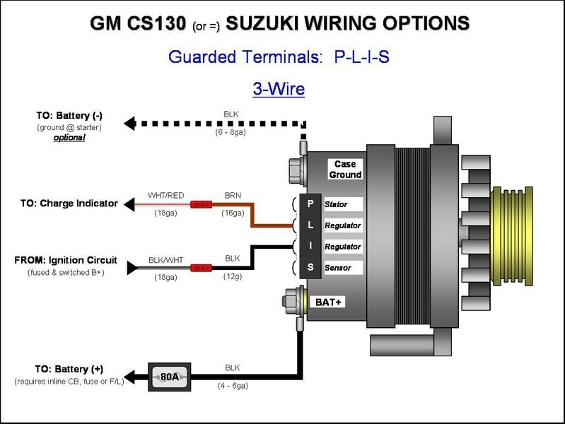 Wire alternator wiring diagram fuse box and