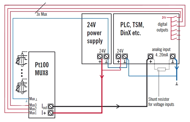 3 Wire Pt100 Wiring Diagram within 3 Wire Pt100 Wiring Diagram