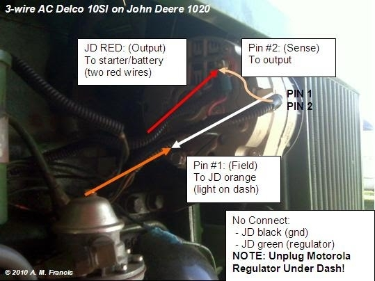 john deere 2640 alternator wiring diagram   41 wiring