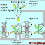 4 Way Light Switch Wiring Diagram | House Electrical Wiring Diagram intended for Double Pole Switch Wiring Diagram