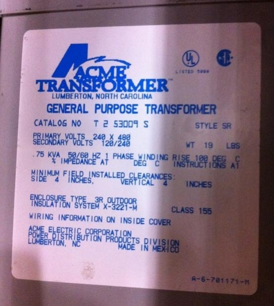 480 Input 240/120 Output Control Transformer Wiring Mystery in 480V Transformer Wiring Diagram