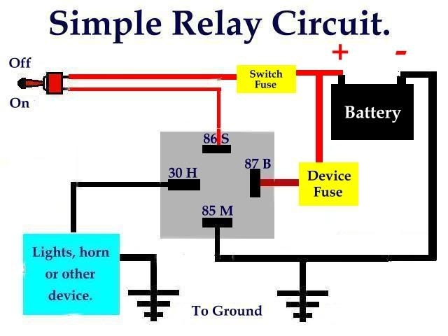 5 Pin Relay Wiring Diagram. 5. Free Diagrams Readingrat Best inside Bosch Relay Wiring Diagram