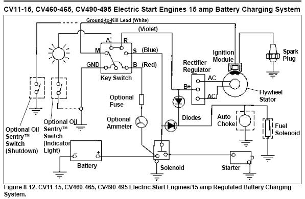 5 Prong Ignition Switch - Mytractorforum - The Friendliest inside Lawn Mower Ignition Switch Wiring Diagram