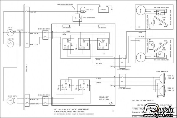 1969 Camaro Wiring Diagram : Camaro wiring diagram fuse box and