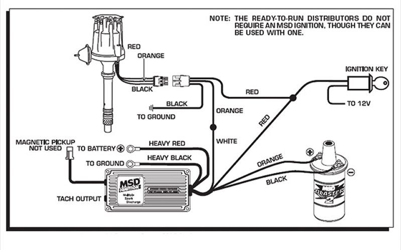 6Al Msd Ignition Wiring Diagram with regard to Msd Ignition Wiring Diagram