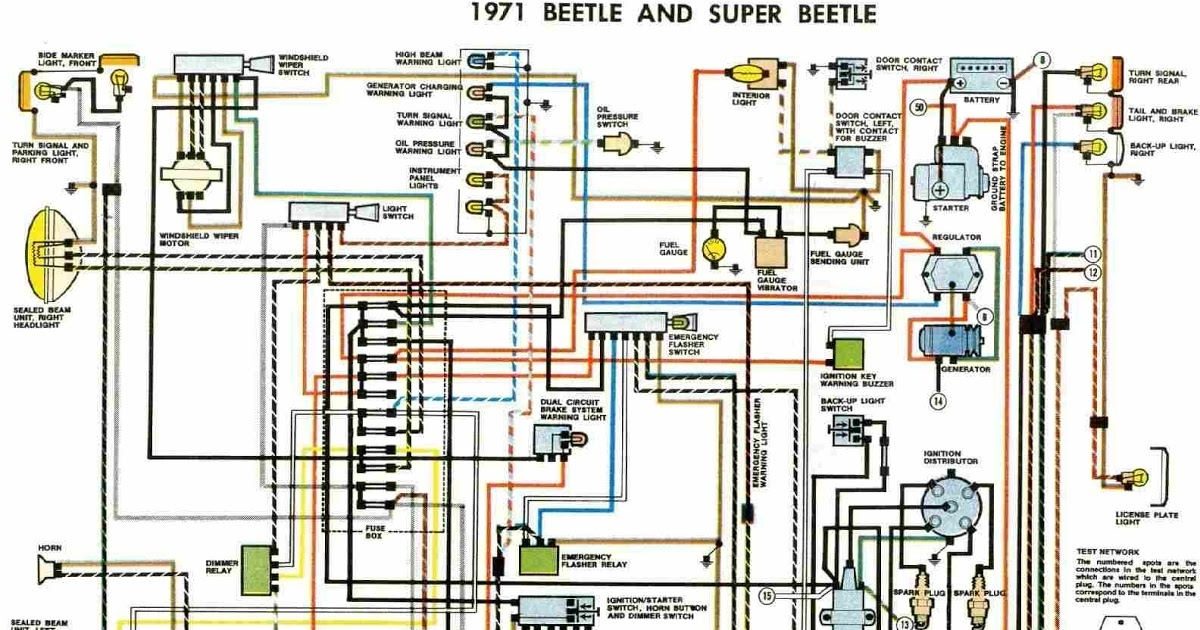 wiring diagrams for a 1973 vw super beetle 1973 vw super beetle wiring diagram #5