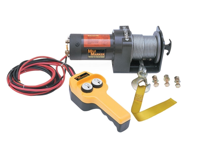 76-50100  mile marker pe2000 electric winch