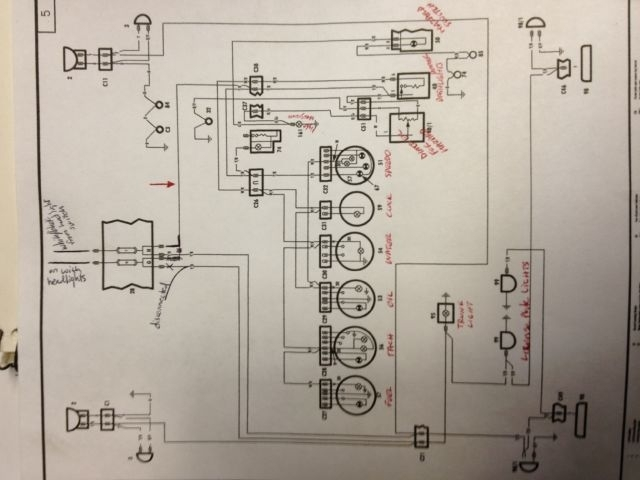 Fiat Lights Wiring Diagram : Fiat spider wiring diagrams fuse box and