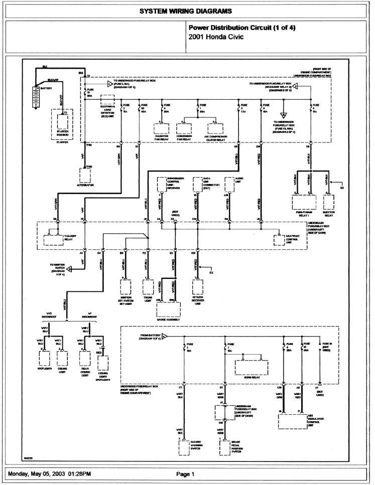 99 Honda Cr V Wiring Diagram – Readingrat in 2002 Honda Crv Wiring Diagram