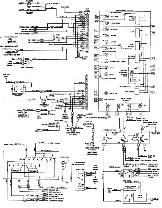 99 Jeep Wrangler Ac Wiring Diagram. Jeep. Electrical Wiring Diagrams for 1992 Jeep Wrangler Wiring Diagram