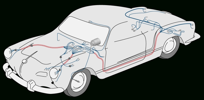 A Blog For James | The Karmann Ghia Wiring Diagram regarding 1973 Karmann Ghia Wiring Diagram