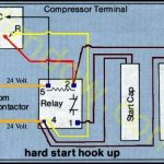 A C Compressor Capacitor Wiring Diagram - Facbooik with regard to Hard Start Capacitor Wiring Diagram