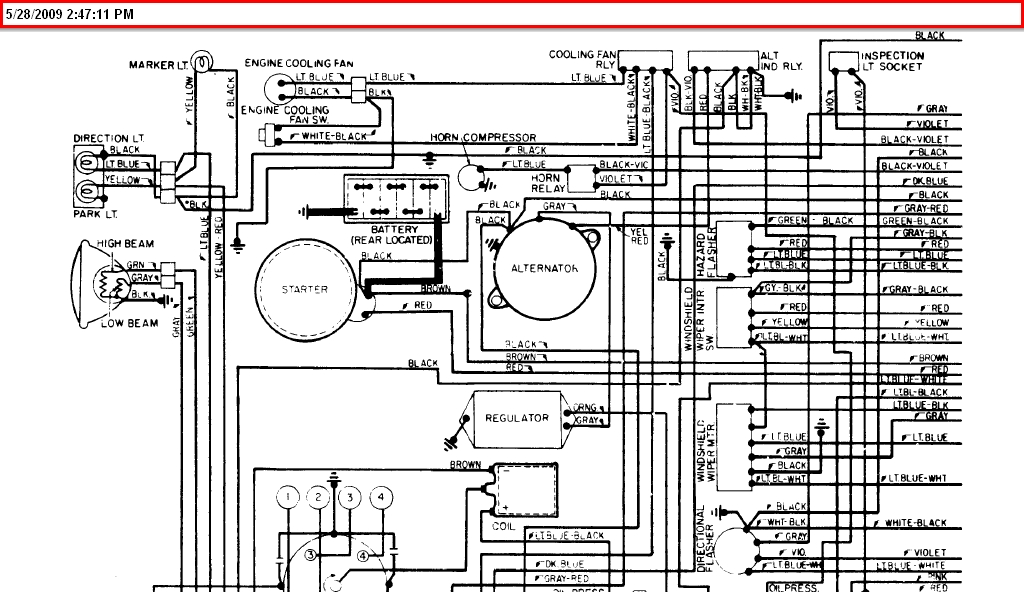 A Diagram For The Ignition Wiring For A 1975 Fiat Spider..engine Died in 1975 Fiat Spider Wiring Diagram