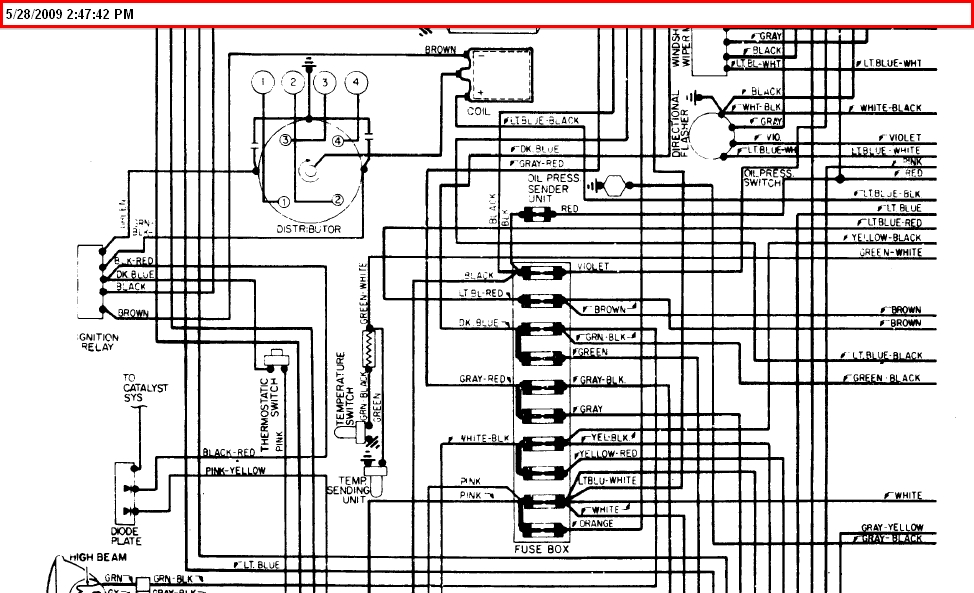 1975 fiat spider wiring diagram