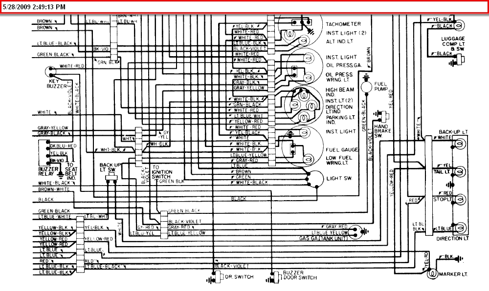 A Diagram For The Ignition Wiring For A 1975 Fiat Spider..engine Died throughout 1975 Fiat Spider Wiring Diagram