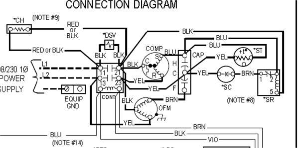 Run Capacitor Wiring Diagram : Capacitors for compressor wiring diagram