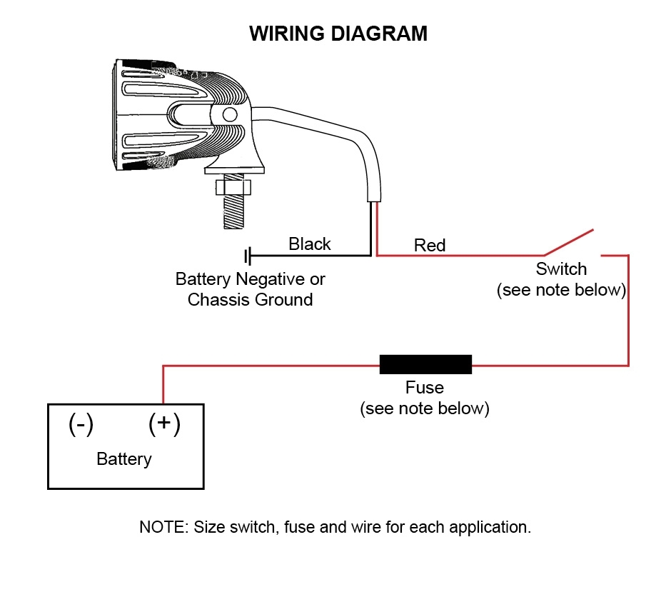 aci off road led lights instructions and wiring diagram Club Car Wiring Diagram Off-Road Lights Relay