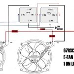 Aftermarket Electric Fan Wiring - Ls1Tech - Camaro And Firebird with Electric Fan Relay Wiring Diagram
