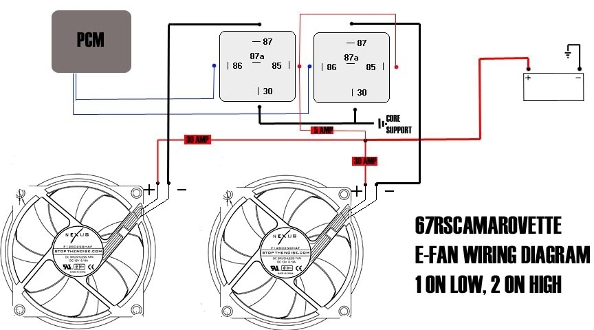 aftermarket electric fan wiring - ls1tech