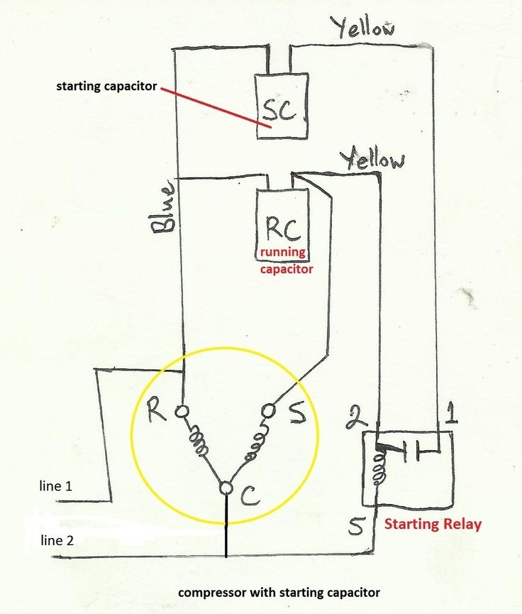 Air Compressor Capacitor Wiring Diagram Before You Call A Ac with regard to Ac Compressor Wiring Diagram