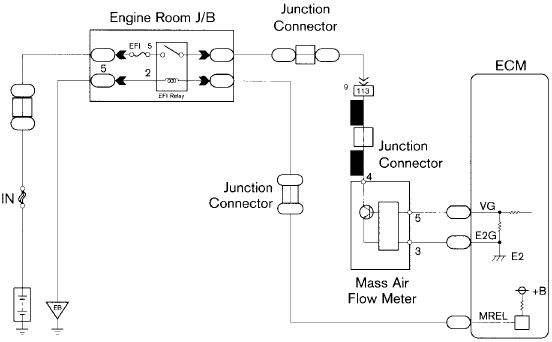 Air Flow Maf Sensor Circuit Diagram for Mass Air Flow Sensor Wiring Diagram