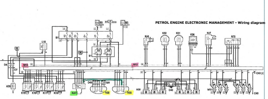 Alfa Romeo Forum: P1688 Throttle Pot Fault Code pertaining to Alfa 156 Wiring Diagram