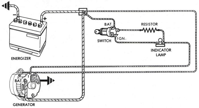 Alternator Wiring Diagrams And Information - Brianesser inside Delco Remy Alternator Wiring Diagram