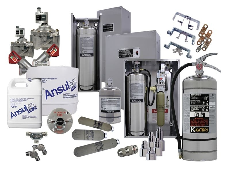 Ansul Piranha Dual Agent Restaurant Fire Suppression System | Fox with regard to Ansul System Wiring Diagram