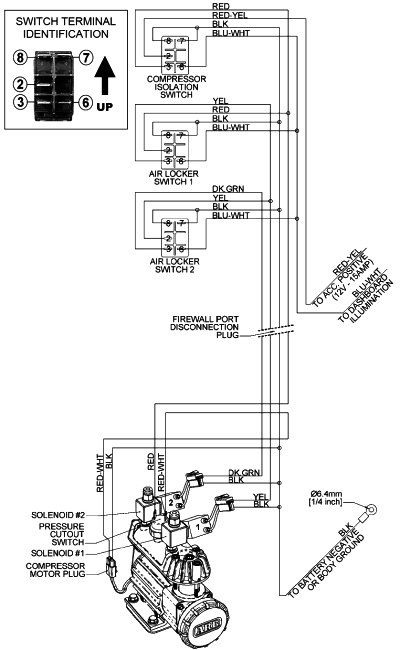 Arb Air Locker Wiring Diagrams with Compressor Wiring Diagram